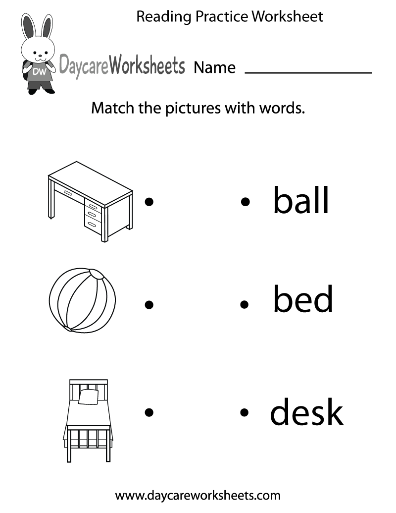 Preschool Worksheet English 1343707