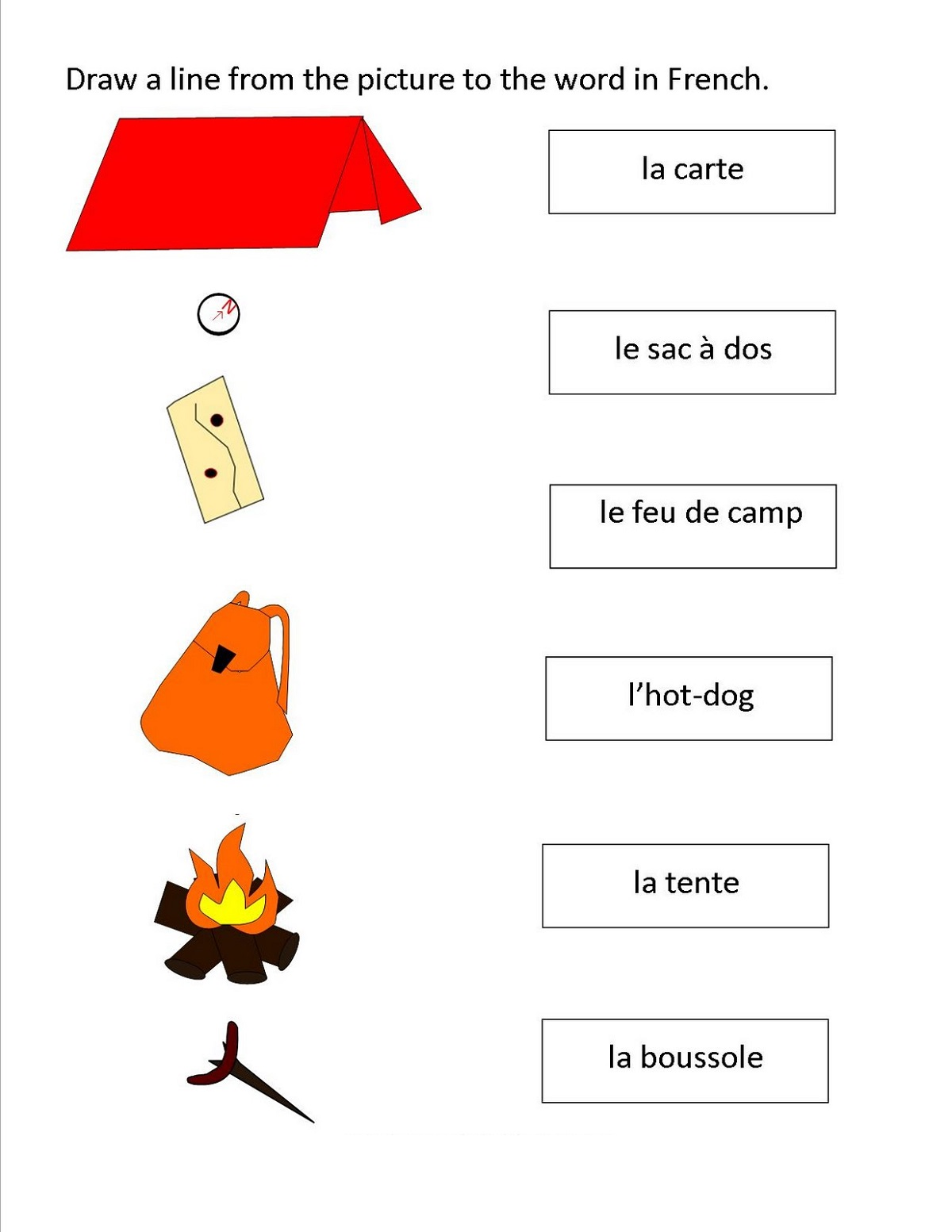 Printable French Worksheets Grade 1 Learning Printable 8736772