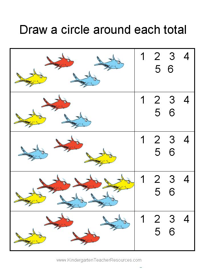 Printable Math Worksheets For Kindergarten Free 865022