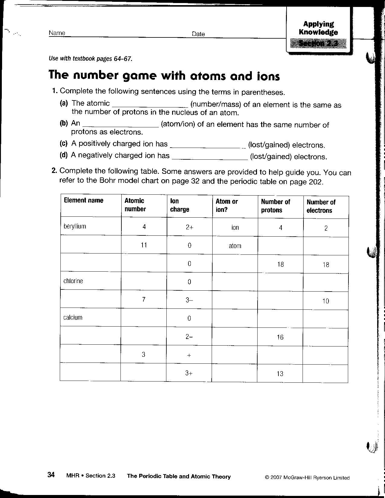 Printables  Isotopes Worksheet  Surveillanceandeveryday Thousands