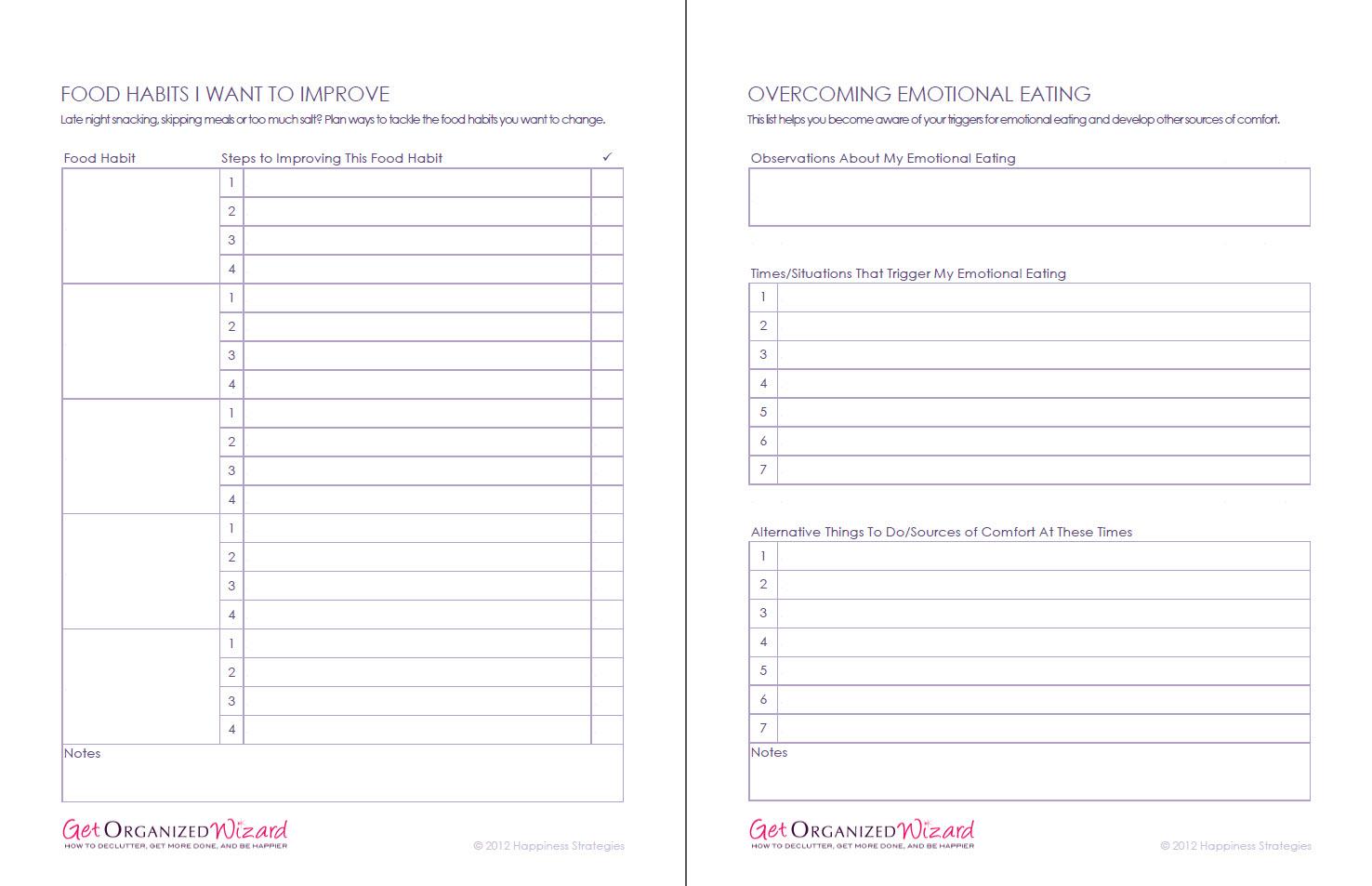 Printables  Life Management Skills Worksheets  Lemonlilyfestival