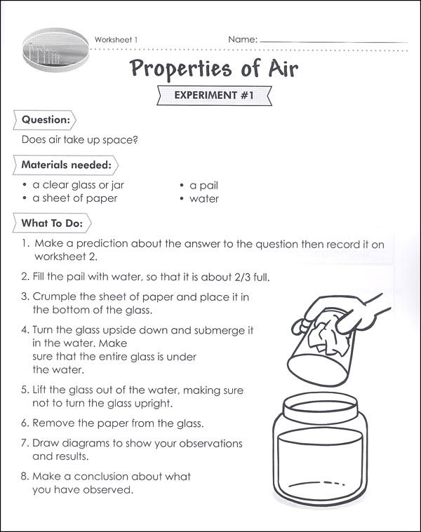 Properties Of Air Worksheet Class Worksheets On Air Pollution