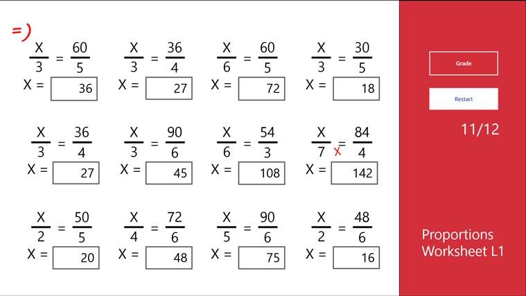 Proportions Worksheet Printables Proportions Worksheet Tempojs
