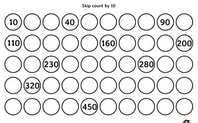 Remarkable Count By 10 Printable Worksheets For Free Printable