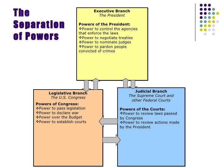 Separation Of Powers Venn Diagram