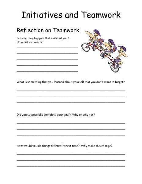 Teamwork Worksheet The Best Worksheets Image Collection