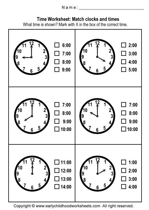 Telling Time Worksheets For Elementary Students New 22 Best