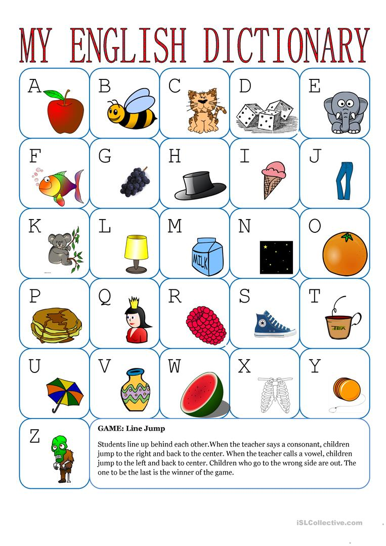 The Alphabet In English Worksheets 986726