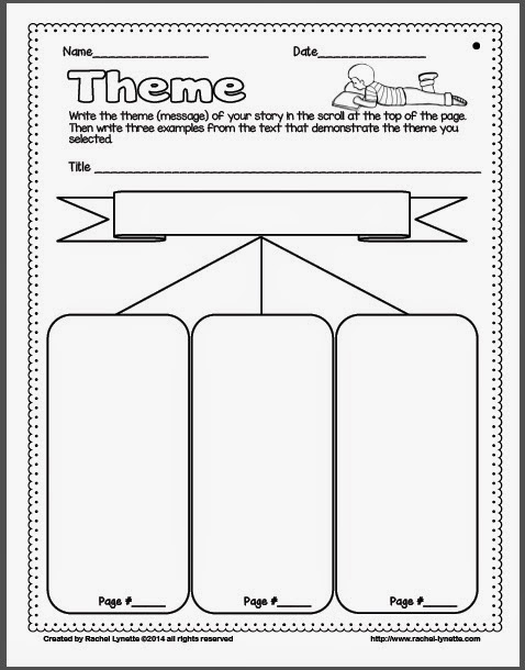 Theme Worksheets Theme Worksheet Worksheets For All Download And
