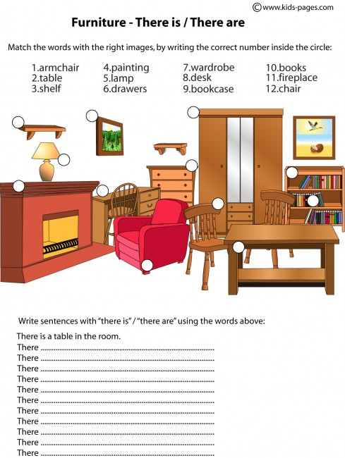There Is Are Worksheet Image Collections
