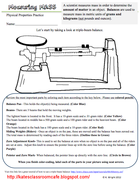 Triple Beam Balance Practice Worksheet The Best Worksheets Image