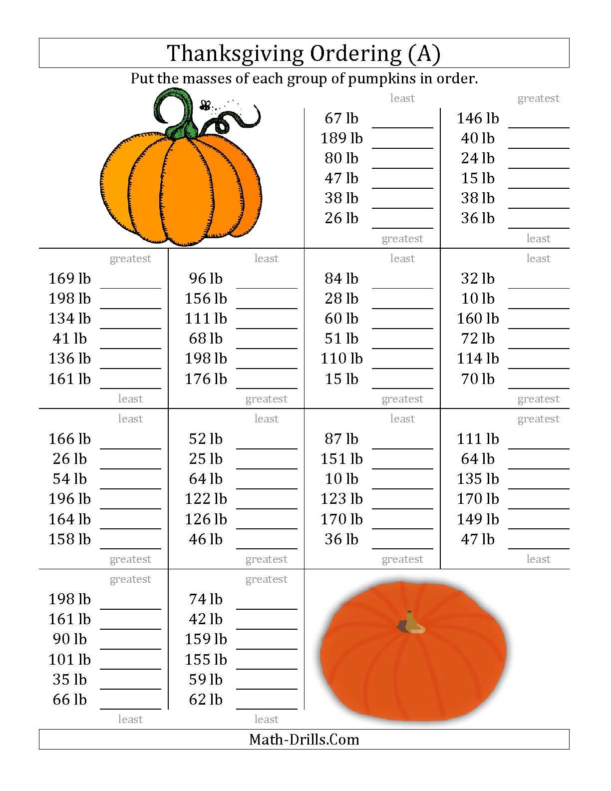 Unique Thanksgiving Worksheets Third Grade Photos