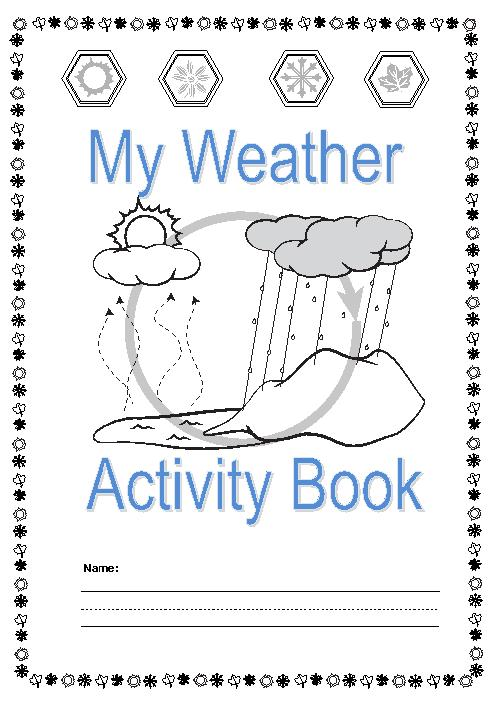 Weather Thematic Unit For Use With Grades K