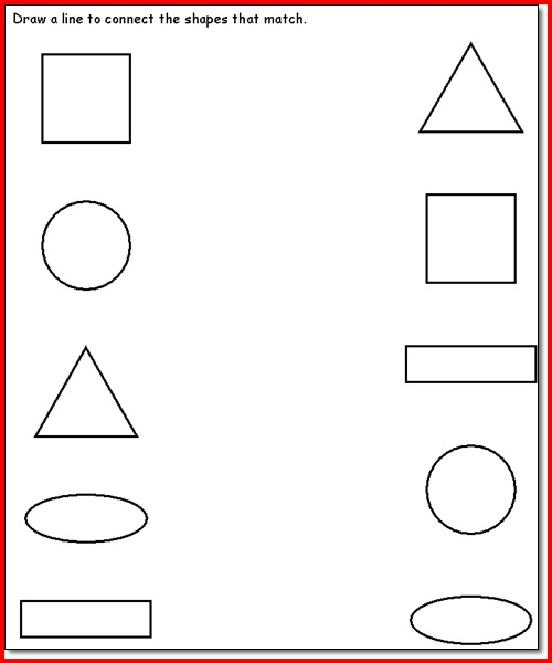 Worksheet For 3 Year Old The Best Worksheets Image Collection
