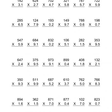 Worksheets For Fraction Multiplication Multiply Mixed Numbers