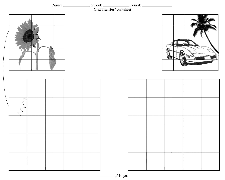 Worksheets For High School Art
