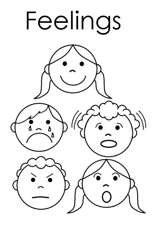 Worksheets For Preschoolers On Emotions 7526