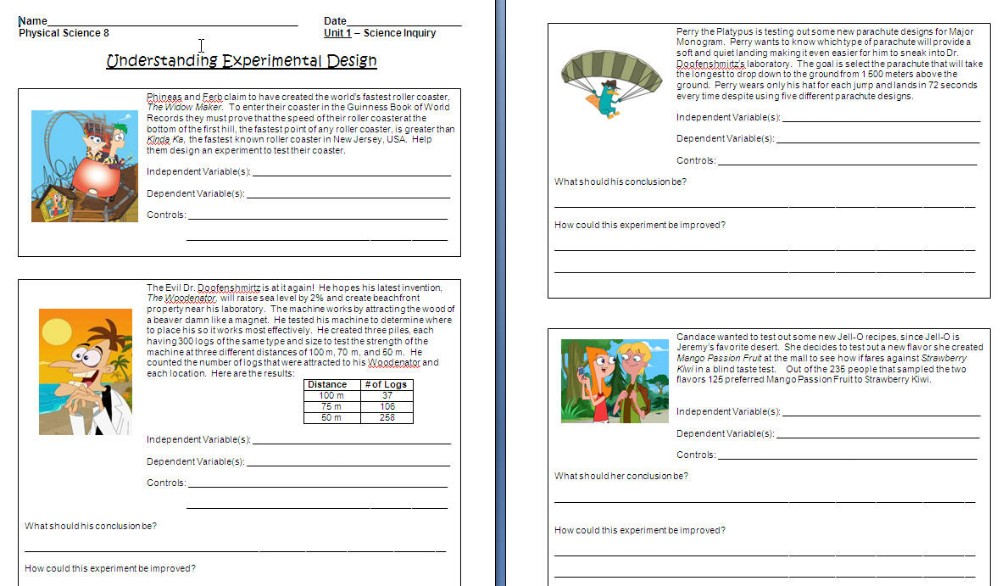 Worksheets On Independent And Dependent Variables In Math 719221