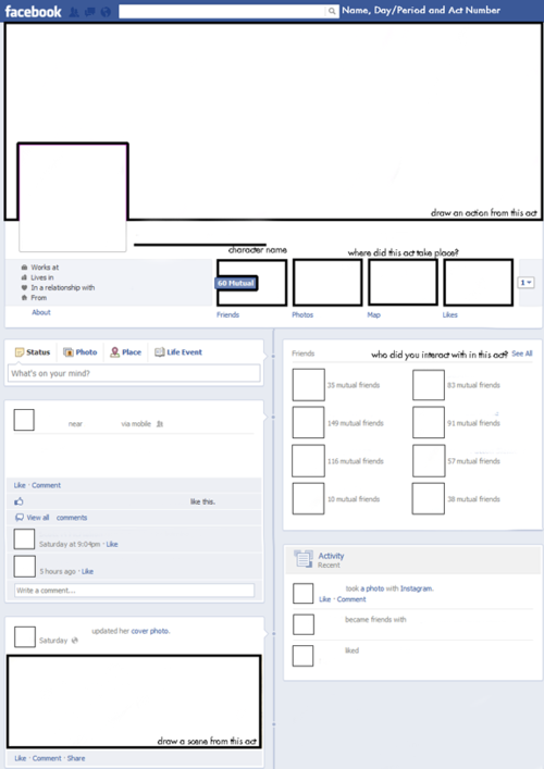 Babsblogs  I Just Finished Creating This Facebook Worksheet For