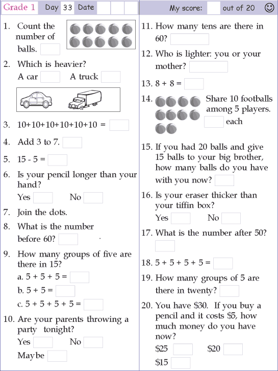 1st Grade Math Worksheets Money Abitlikethis, Printable Math