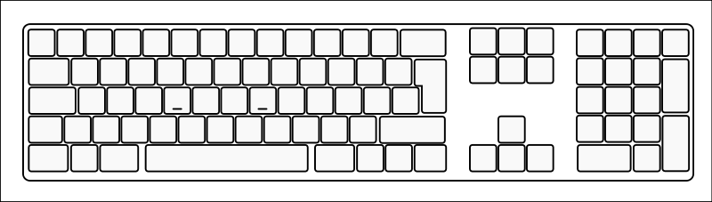 25 Images Of Blank Keyboard Template