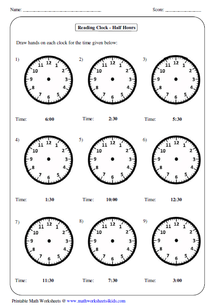 28+ Collection Of Drawing Hands On A Clock Worksheet