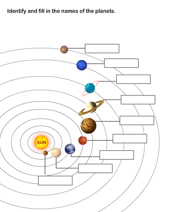 2nd Grade Planet Worksheets The Best Worksheets Image Collection