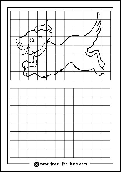 35 Best Grid Drawing Worksheets