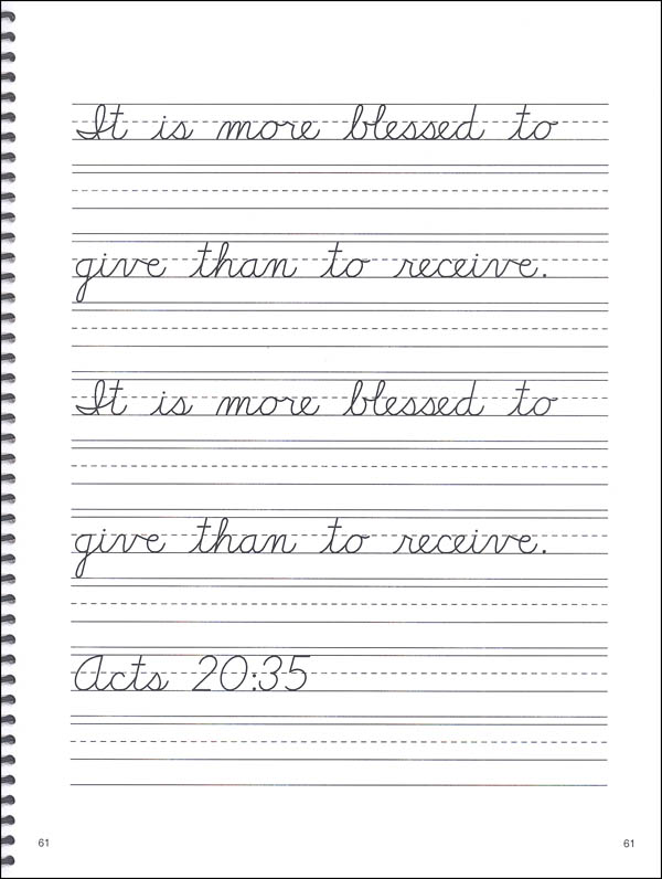 3rd Grade Cursive Worksheets  994836