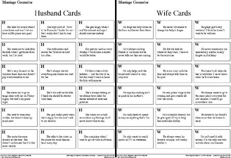 56 Marriage Counseling Worksheets, Pin Marriage Counseling