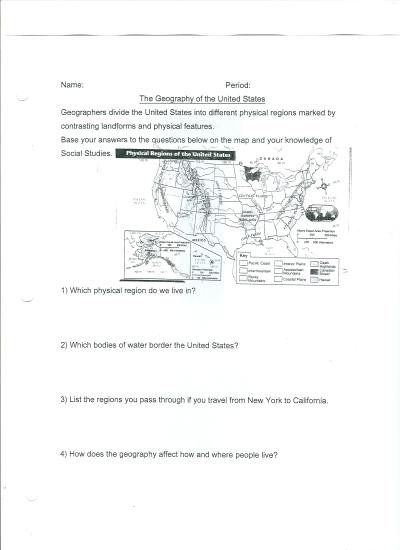 8th Grade Social Studies Worksheets  8th Grade Social Studies