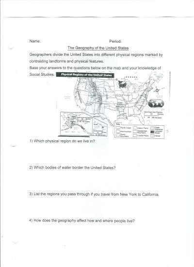 8th Grade Social Studies Worksheets With Answers The Best