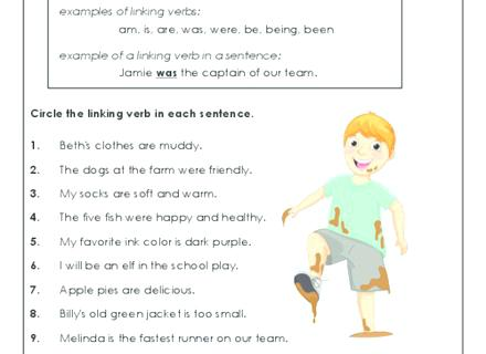 Verb Worksheets First Grade Free Action 2nd Present Tense Verbs