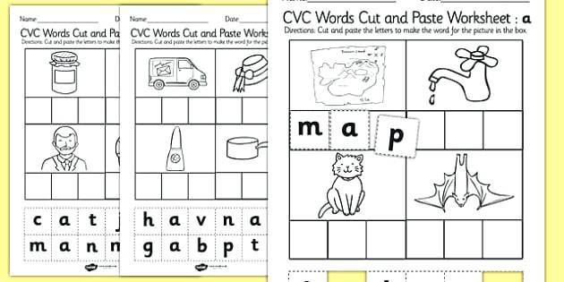 Activities Have Fun Teaching Cvc Worksheets For Second Grade Words