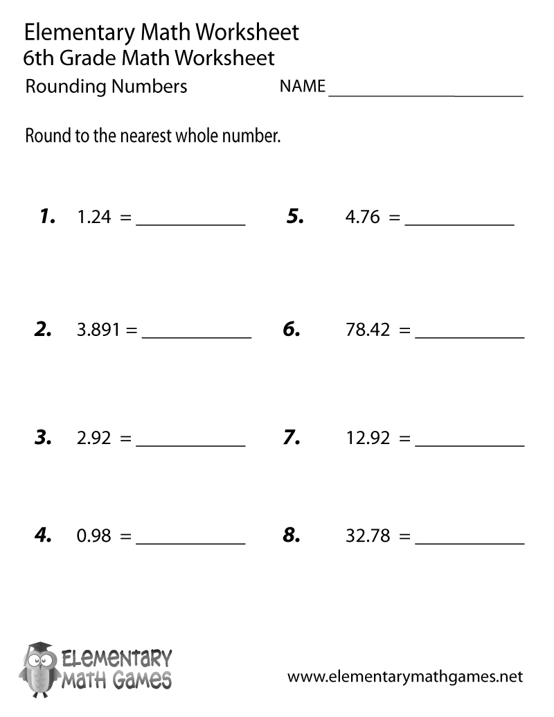 Best Solutions Of Free Printable Fraction Worksheets For 6th Grade
