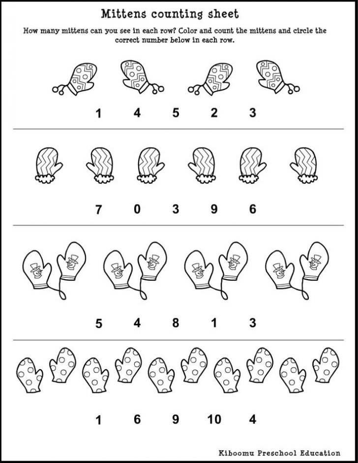 Black And White Printable Preschool Worksheets 704169