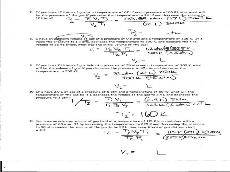Calculating Specific Heat Worksheet Answers 16 Free Download