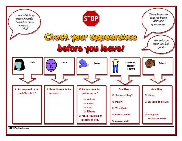 Children S Personal Hygiene Worksheets 79098