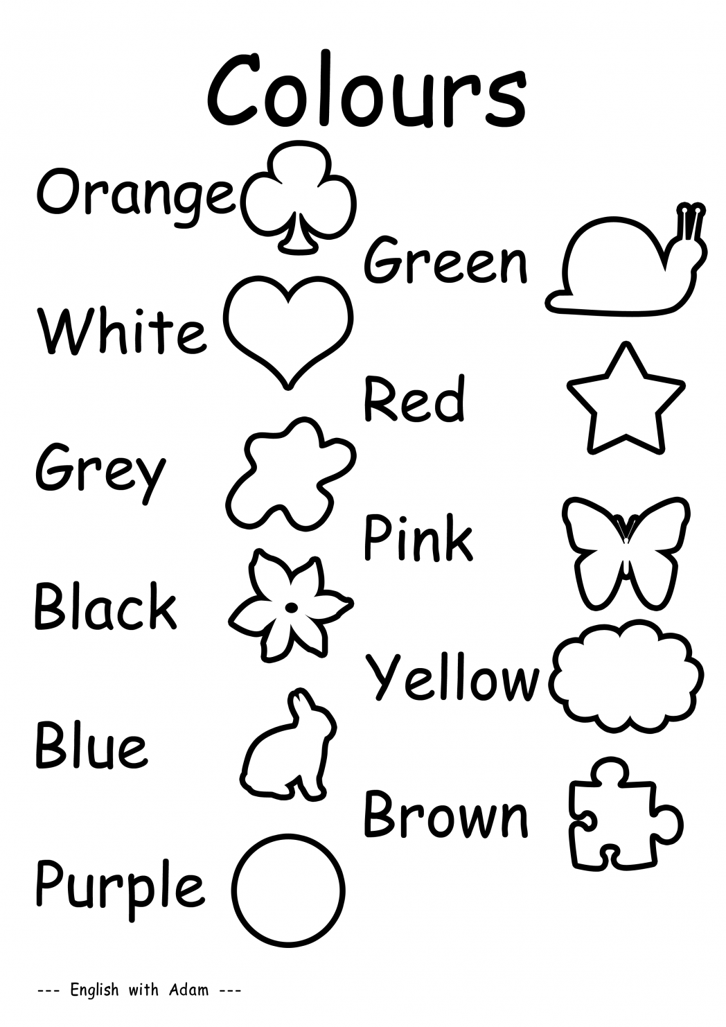 Color Worksheets For Preschoolers Pdf  1396367