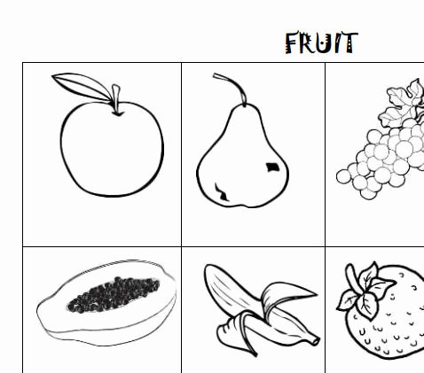 Coloring Page Vegetables Unique Fruit Vocabulary Worksheet