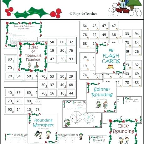 Common Core Worksheet Have Fun Teaching Rounding Worksheets Sheets