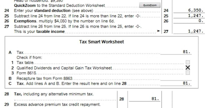 Credit Limit Worksheet 8863 Beautiful Irs Form Line 6 D Original