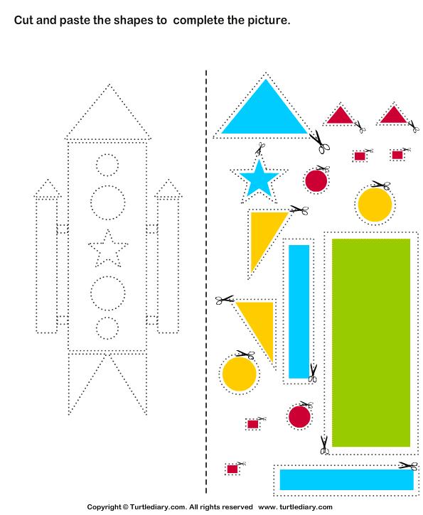 Cutting Worksheets For Kindergarten Worksheets For All