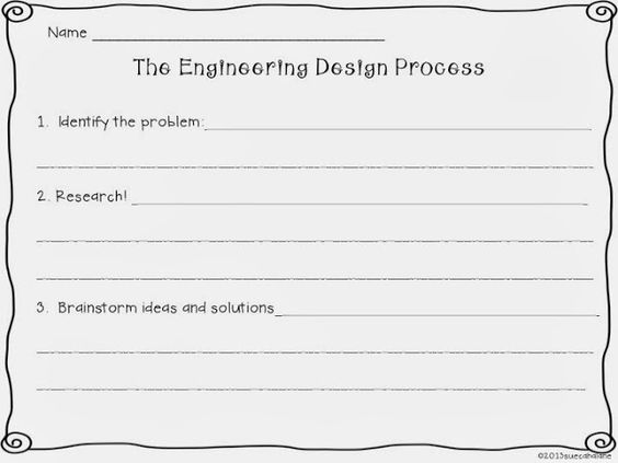 Design Your Own Experiment Worksheet Worksheets For All