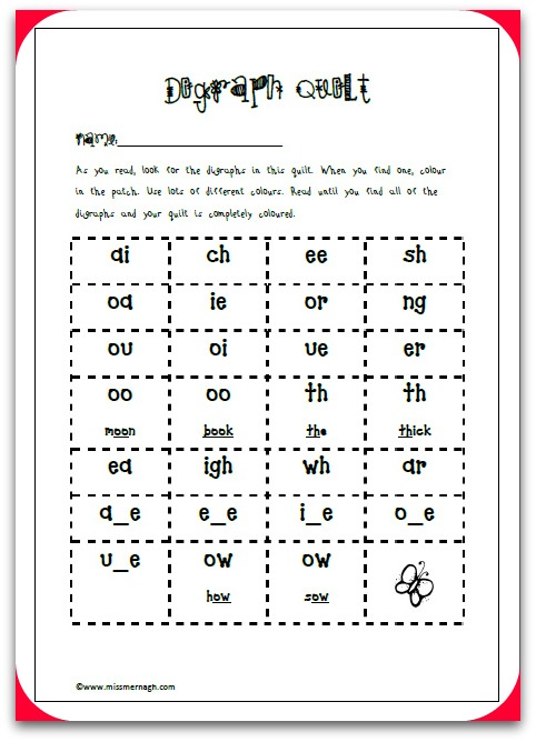 Free Jolly Phonics Printable – Missmernagh Com