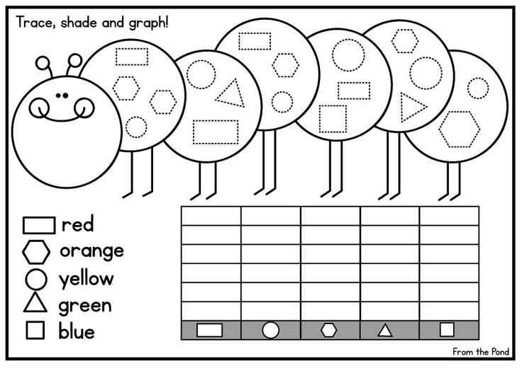 Easy Graphing Worksheets Kindergarten