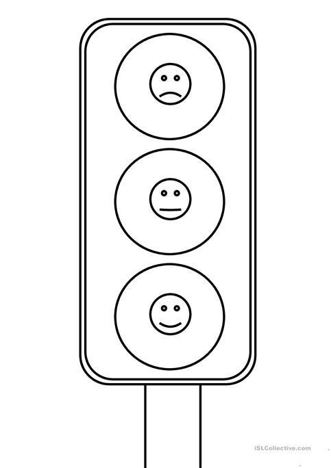 Eq Traffic Light Worksheet
