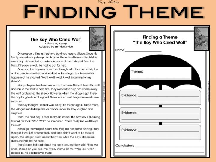 Finding Theme Worksheets 16 Impressive 17 Best Grade 4 Theme