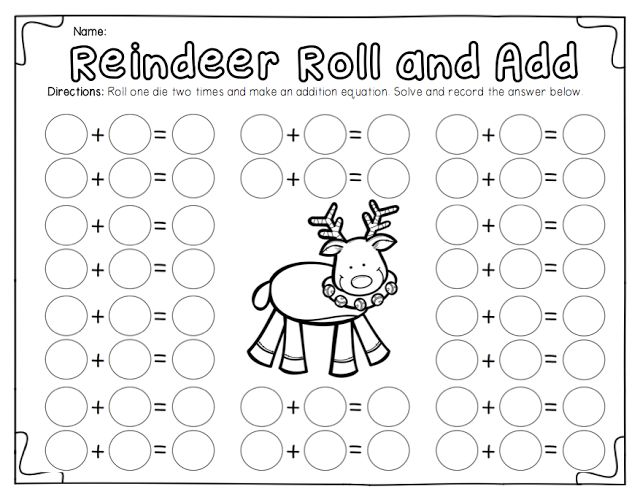 First Grade Christmas Math Worksheets The Best Worksheets Image