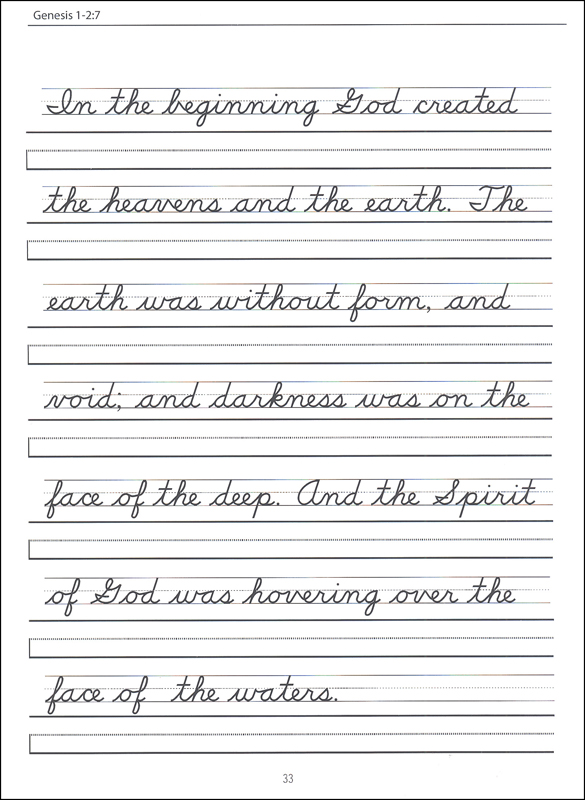 Free Cursive Handwriting Worksheets For Third Grade  768001